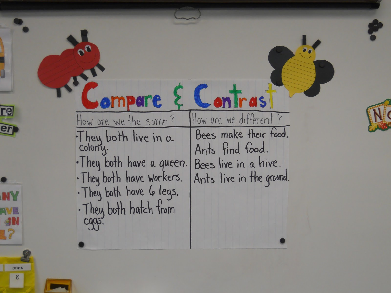 Mrs Johnson S First Grade Busy As A Bee