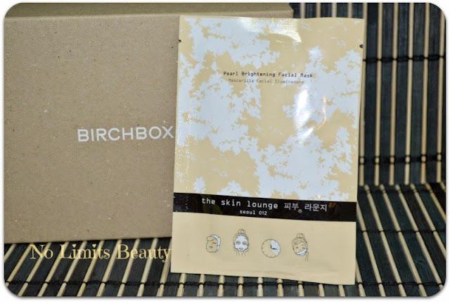 BirchBox - The Skin Lounge Pearl Brightening Facial Mask
