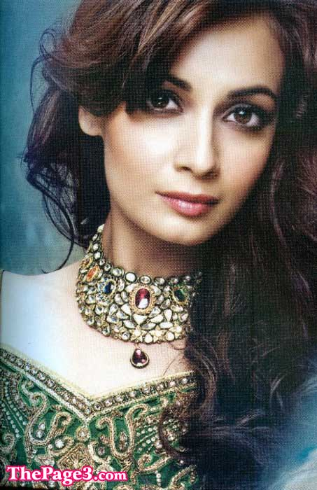 dia mirza traditional