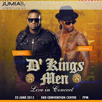 Dbanj & 2chainz - DKM Concert Lagos