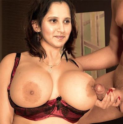 Big Boobs Sania Mirza Handjob