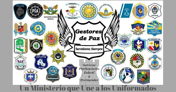 Policía proclama Su Nombre - Gestores de Paz Argentina