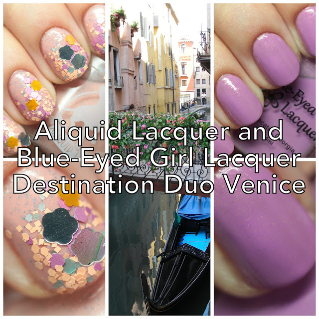 Aliquid Lacquer and Blue-Eyed Girl Lacquer Destination Duo Venice