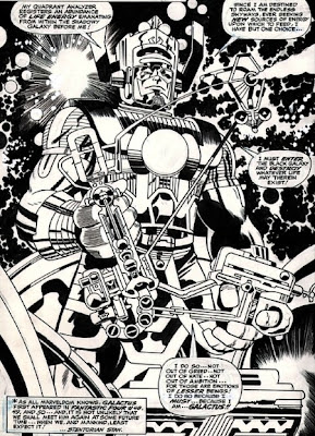 Galactus by Jack Kirby and Vince Colletta
