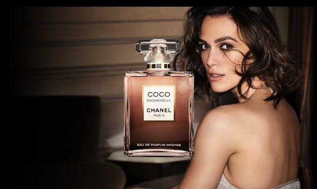Keira Knightley w reklamie Chanel Coco Mademoiselle Eau de Parfum Intense