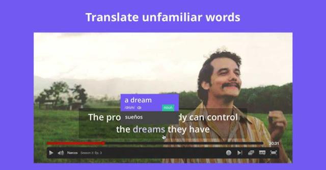 Esta extensión te traduce los subtítulos de Netflix en tiempo real