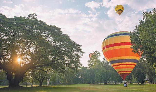 Lịch trình tham quan Chiang Mai bằng khinh khí cầu