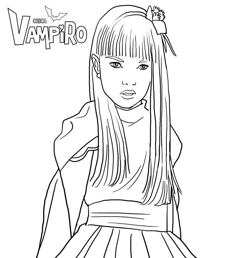 Dessin chica vampiro cg92 jornalagora - Coloriage chica vampiro ...