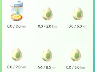 cara menetaskan telur pokemon go