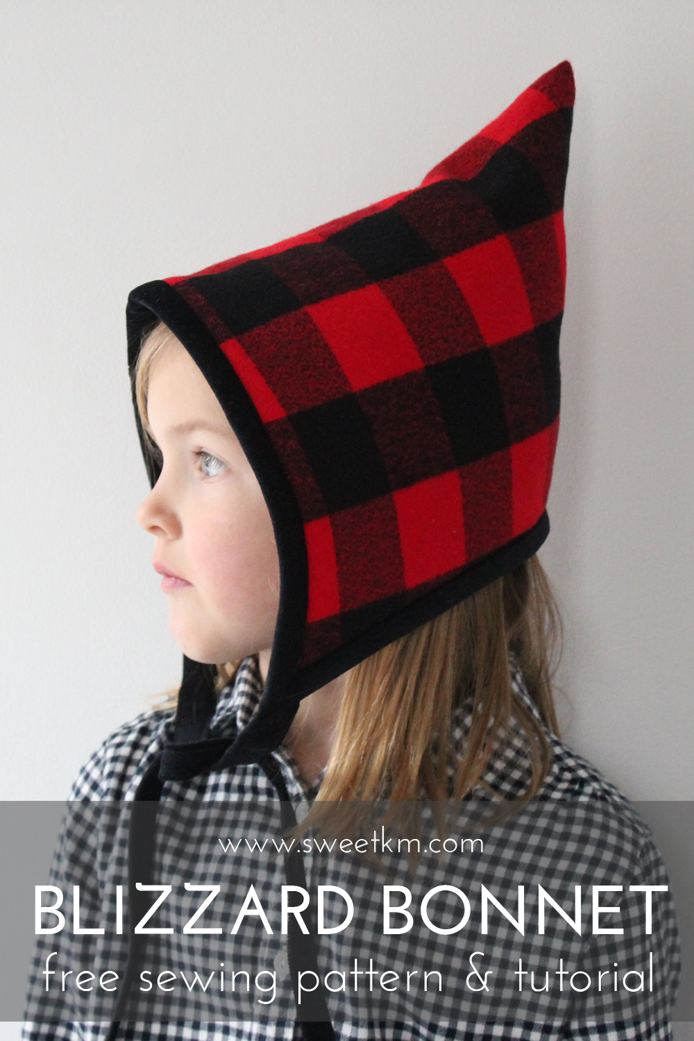 Sweetkm blizzard bonnet free hat sewing pattern in 5 sizes free patterns jeuxipadfo Image collections