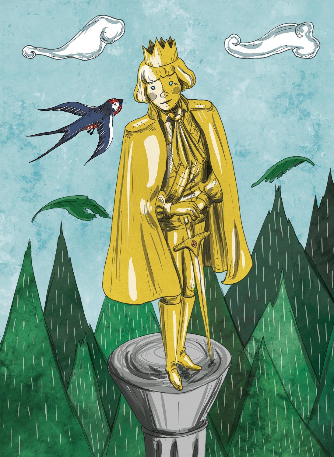 Orthodox Youth Resources Oscar Wilde S The Happy Prince