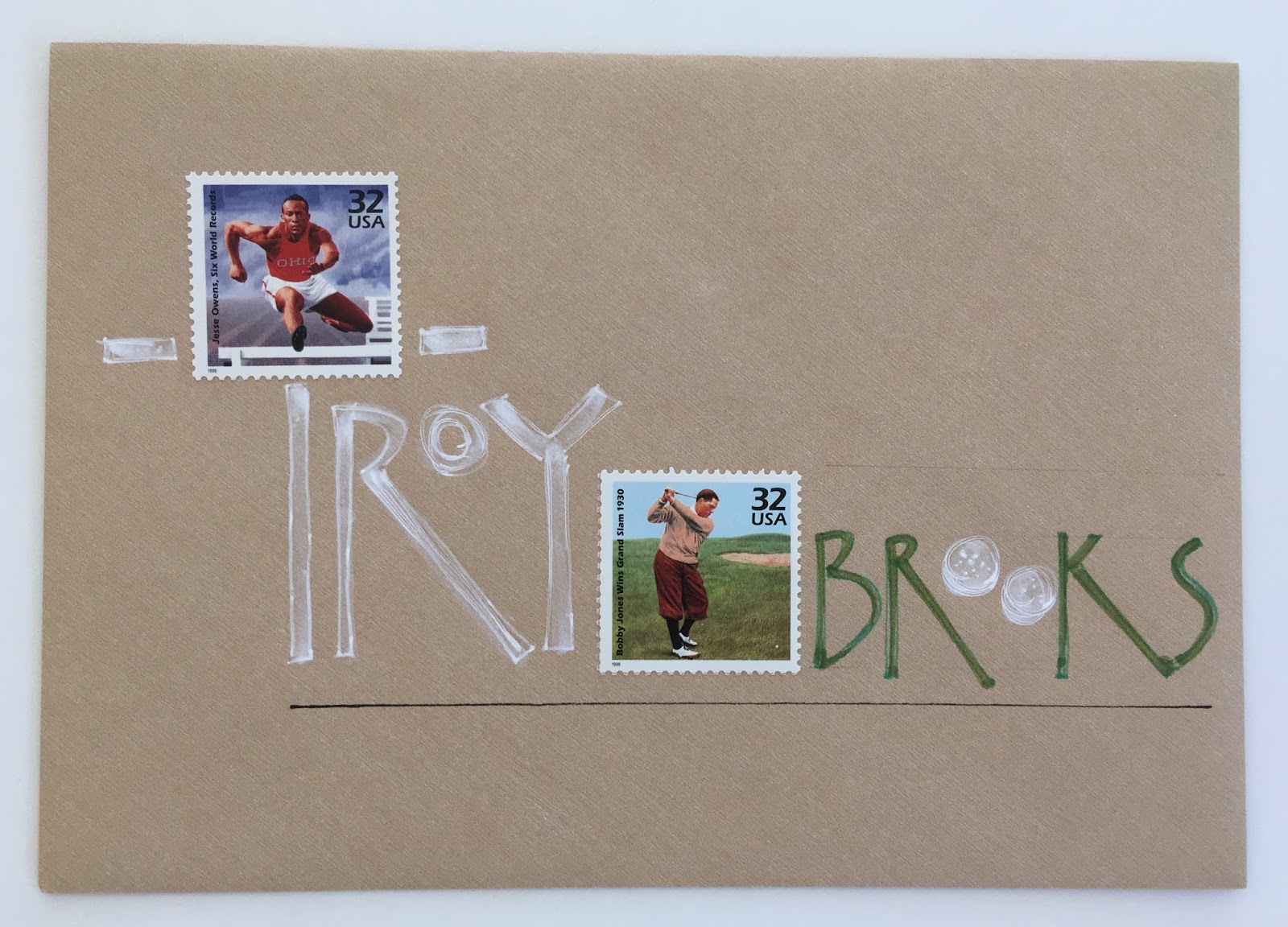 pushing the envelopes aug exchange troy s sports stamps