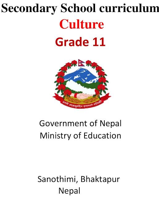 Grade XI NEB Syllabus - Culture