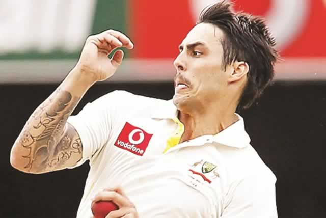 Mitchell Johnson Images 2015