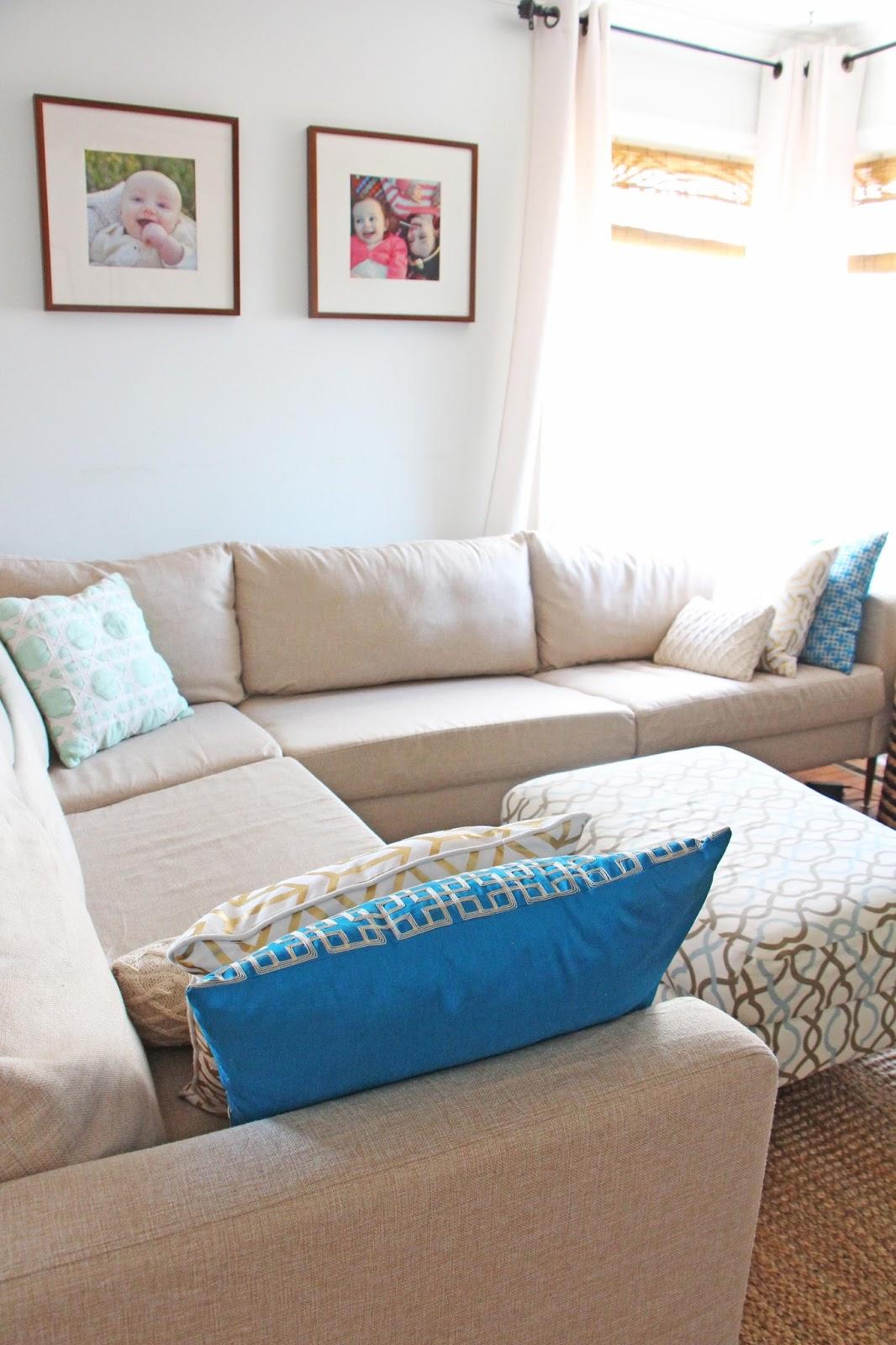 Ekeskog Sofa Slipcover Bed Blue Velvet Grosgrain Finally Affordable Ikea Slipcovers