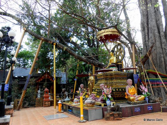 TEMPLOS DE CHIANG MAI, TAILANDIA. (1) WAT CHED YOD