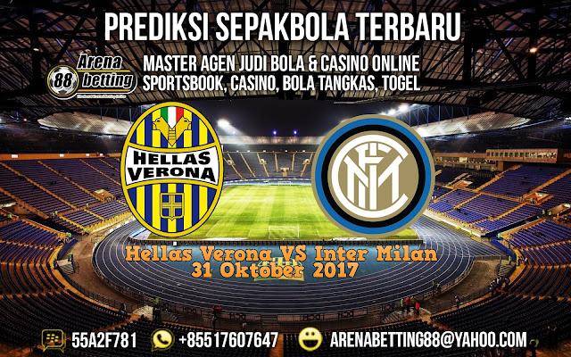 Prediksi Pertandingan Hellas Verona vs Inter Milan 31 Oktober 2017