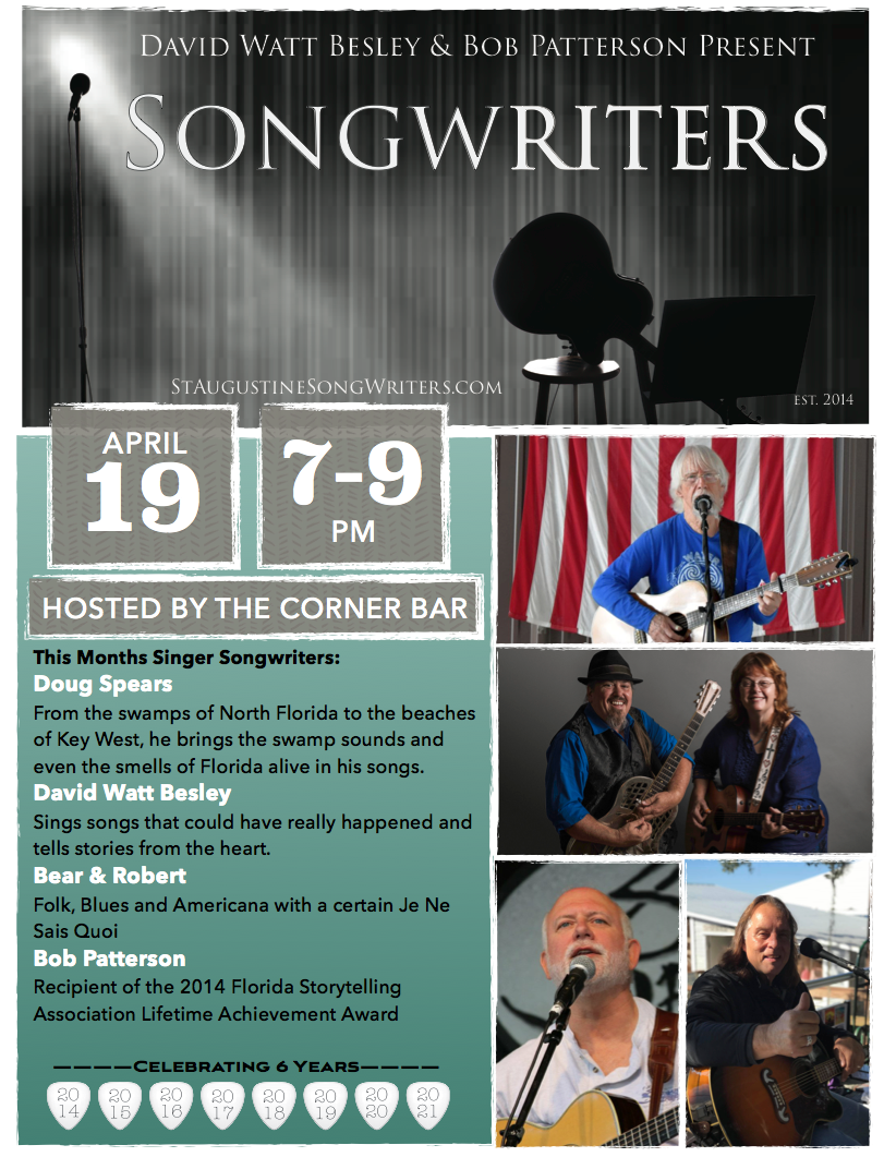 Songwriters Night 4/19/2021