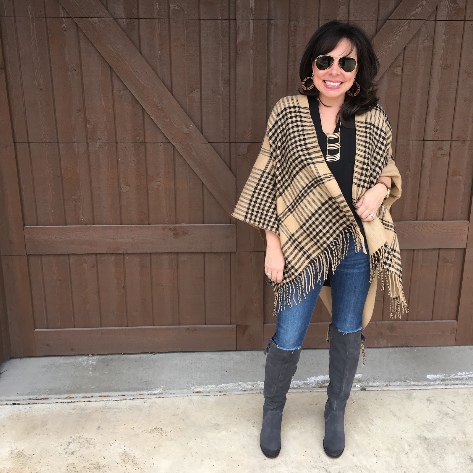 95b7a31154a A Poncho, Boots, and a Bag! — Sheaffer Told Me To