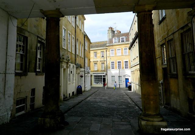 Uma rua de Bath, Inglaterra