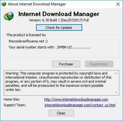 Internet Download Manager IDM 6.30 Build 3 Crack