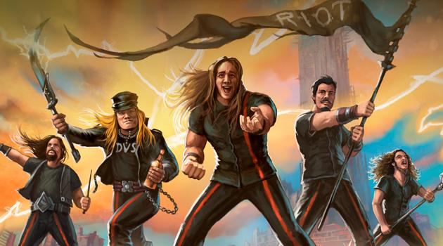 Riot V banda 2018