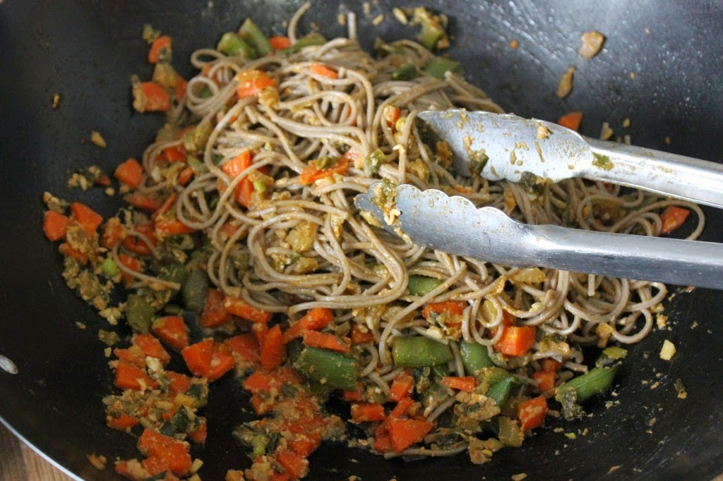 Featured Recipe | Mark Bittman's Veggie Fried Noodles from The Texan New Yorker #SecretRecipeClub #recipe