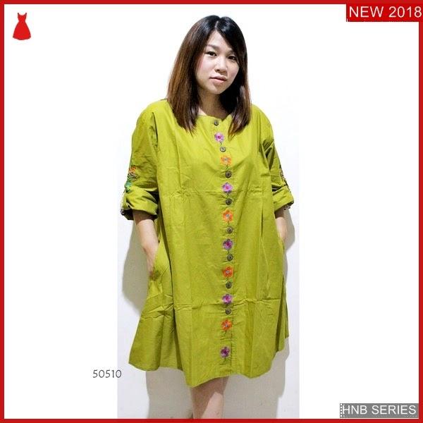 HNB057 Model Tunik Batik Ukuran Besar Jumbo Modis BMG Shop
