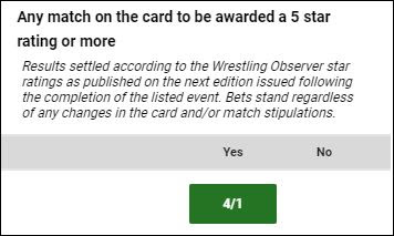 Any WWE TLC 2017 Match To Get 5 Stars