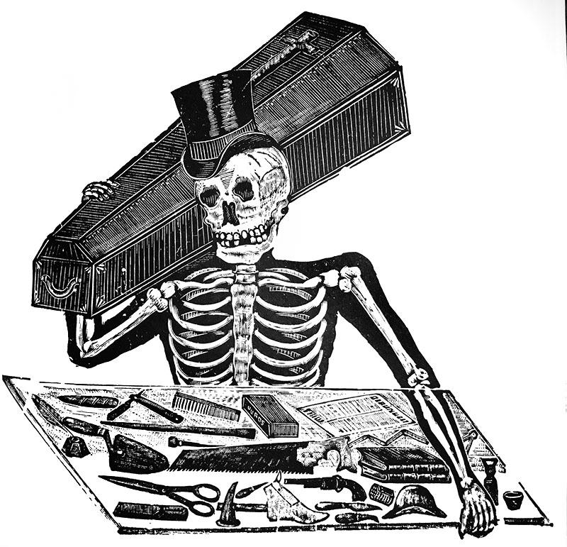 Morbid Anatomy: Manuel Manilla, Mexican Engraver: Guest Post by ...