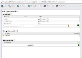 AEM-service-user