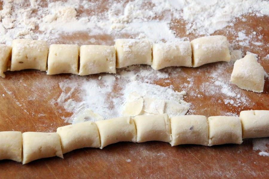 Leftover Mashed Potato and Roasted Garlic Gnocchi