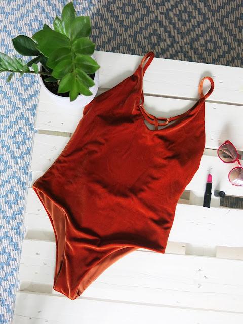 Jednoczęściowy strój kąpielowy | Zaful | Swimwear |