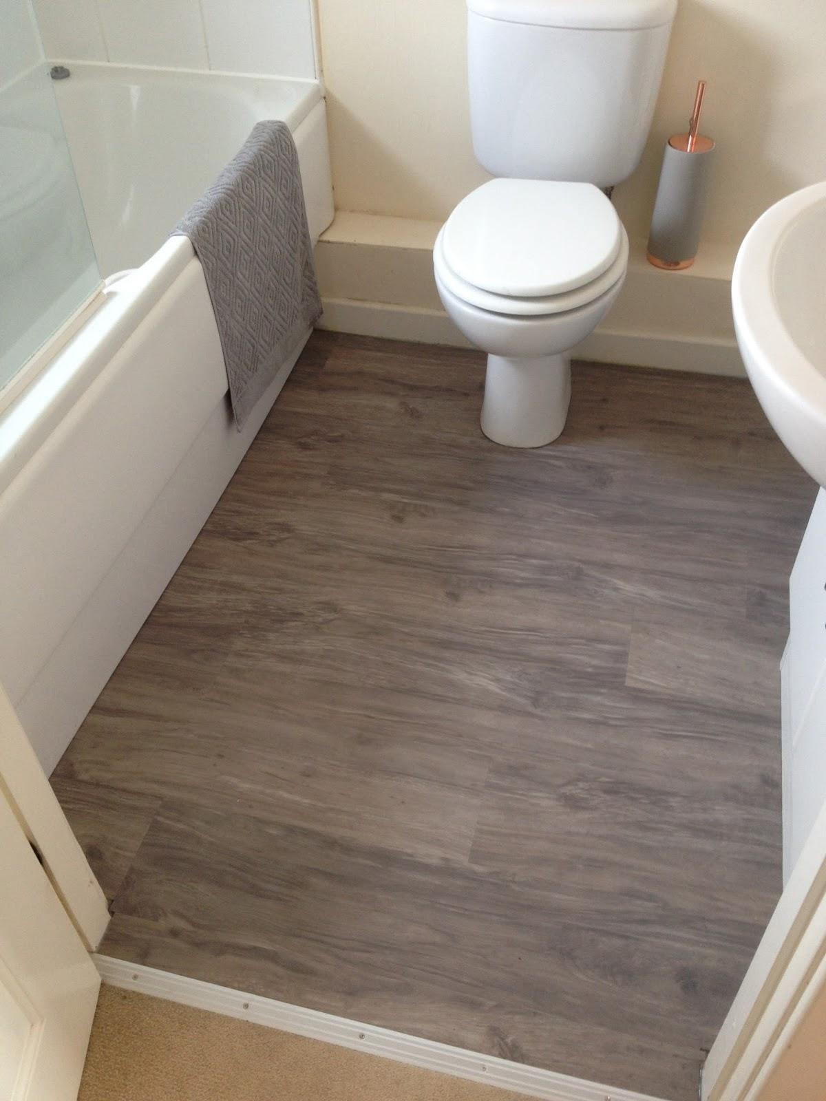 Bathroom Floor Repair Carried Out
