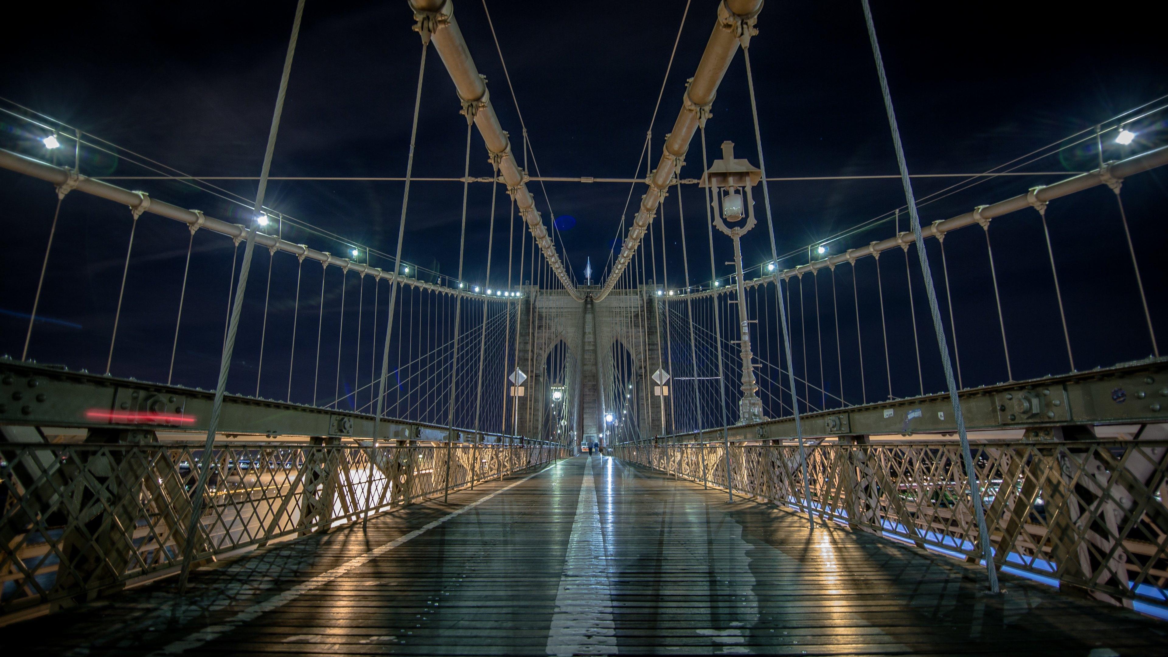 Brooklyn Bridge. New York Nights HD