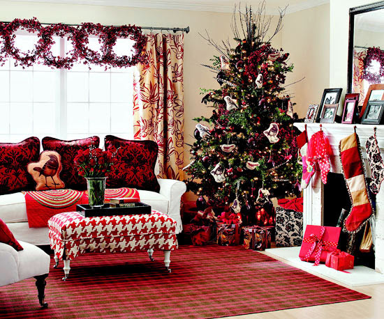 Christmas Celebrations Living Room