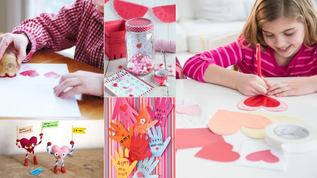 How To Make Valentine's Day Crafts For Toddlers