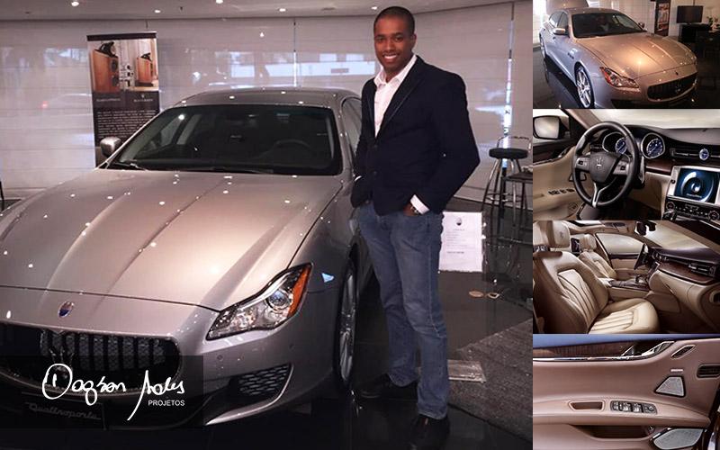 Dagson Sales testa Maserati Quattroporte com siste de áudio B&W Bowers & Wilkins | Dagson Sales Projetos