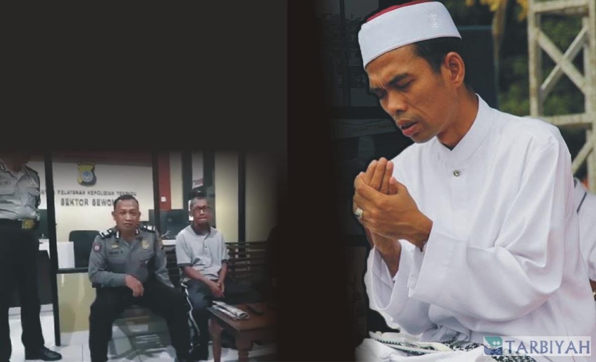 Ustadz Abdul Somad doakan Rudy Ian