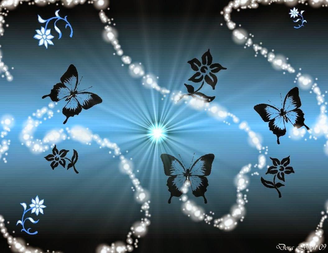 3D Butterfly Desktop Backgrounds