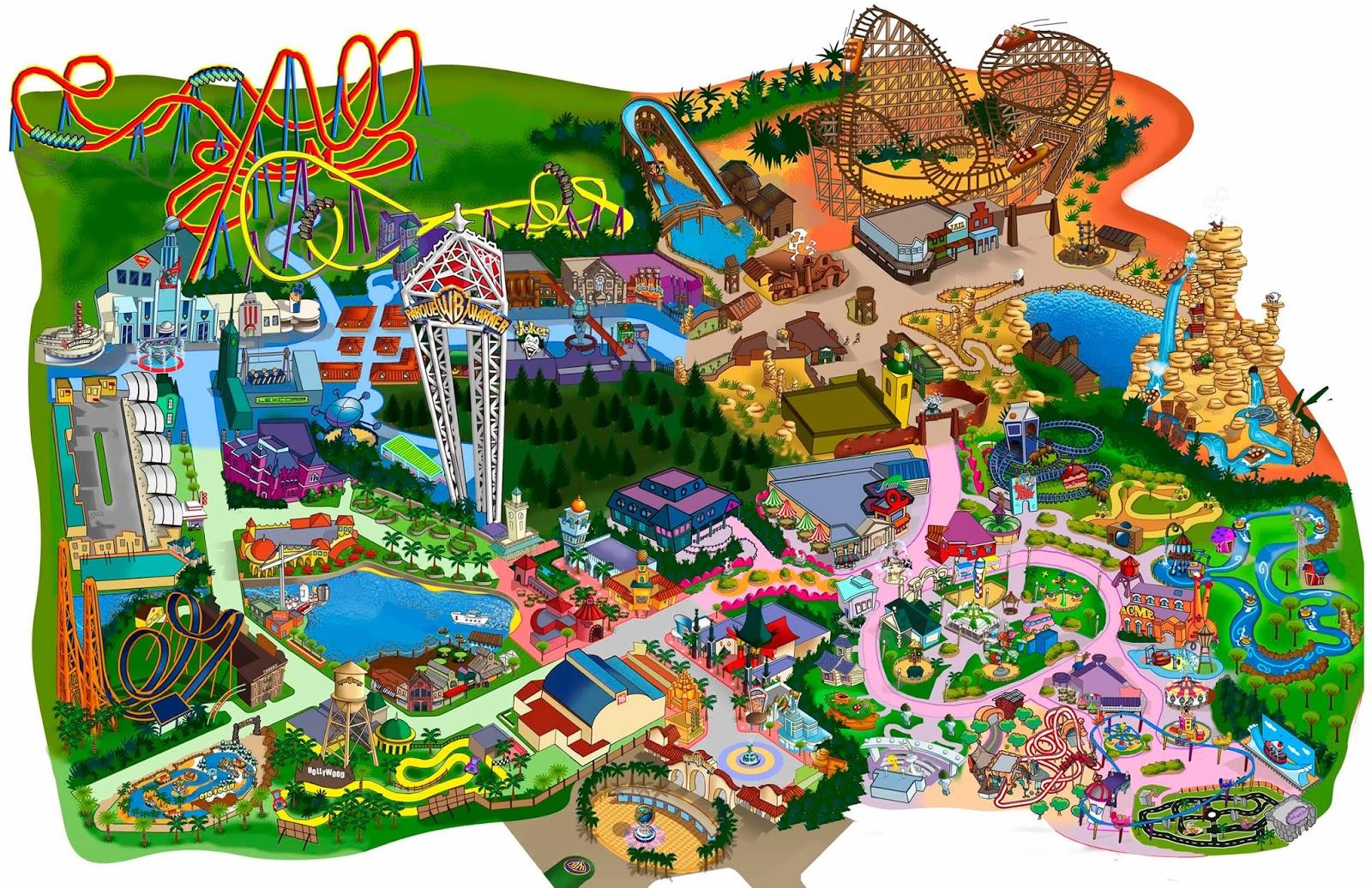 El Parque De Atracciones De Dibujos Animados Ven A Jugar: Madrid Con Niños: Disfrutando Del Parque Warner En