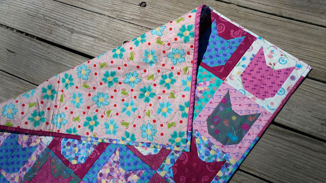 Kitt cat baby/kid quilt