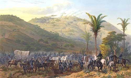 La batalla de Cerro Gordo