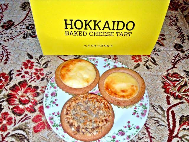 Hokkaido Baked Cheese Tart di KLCC