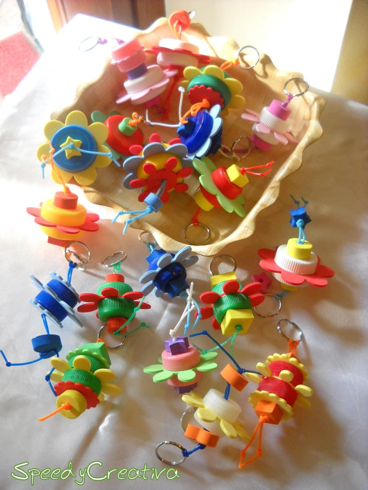Popolare Lavoretti con tappi plastica: 101 idee di riciclo creativo VF09