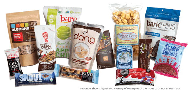 care package goodies in SoulFeed box #ad