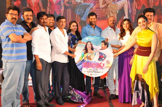 Actress Tamanna Hot at Okkadochadu Telugu Movie Audio Launch