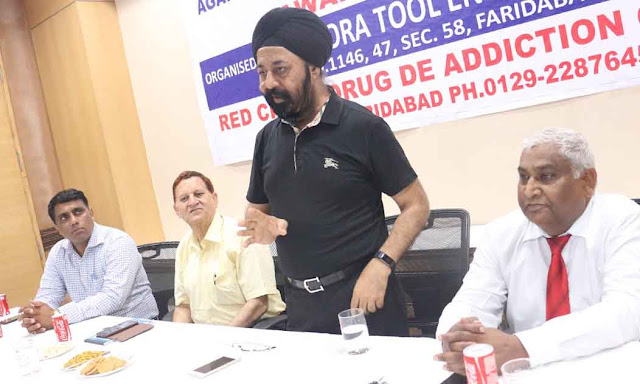 Drug use affects not only one person but entire family: - S. S. Banga