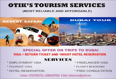 Special Offer On Trips To Dubai