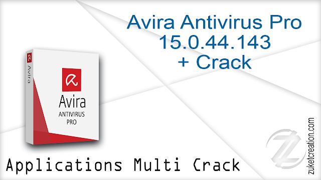 Avira Antivirus Pro 15.0.44.143 + Crack